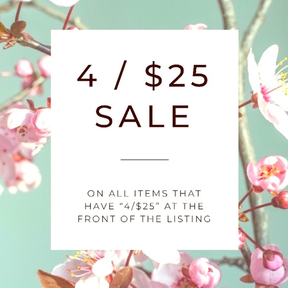 & Other Stories Other - Items marked 4/25 are just $25 when you buy 4!!!